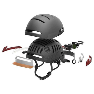 LIVALL BH51M Smart Urban Helmet Graphite Black - Exploded Diagram