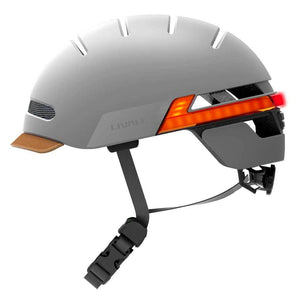LIVALL BH51T Smart Urban Helmet Sandstone Grey left view