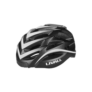 LIVALL BH62 Smart cycling helmet left view - Matte with black & white color