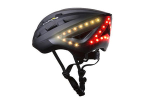 LED warning light and flashing - LUMOS Smart Cycling Helmet with MIPS