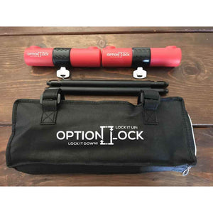 OptionLock - Breaks down into 4 pieces. Durable eco-friendly mounting case
