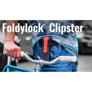 Foldylock Clipster - Carry the lock on your belt