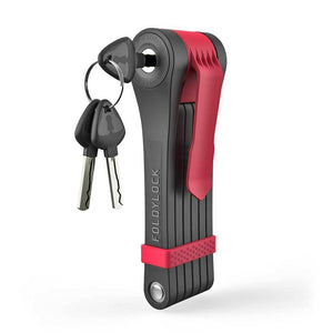 Foldylock Clipster - Lock and Keys - Red