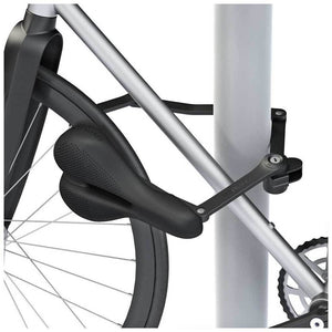 Seatylock Trekking - Black - Locked on frame