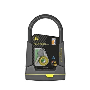"U-lock Pentagon Pure 22cm / 8.66"" - Packaging"