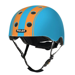 Bicycle Helmet Urban Active MELON - Double Orange Blue