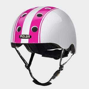 Bicycle Helmet Urban Active MELON - Double Pink White