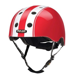 Bicycle Helmet Urban Active MELON - Double White Red