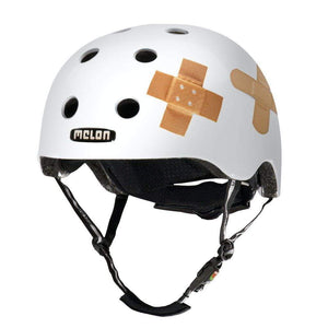 Bicycle Helmet Urban Active MELON - Plastered White (matte)