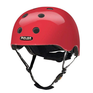 Bicycle Helmet Urban Active MELON - Rainbow Red