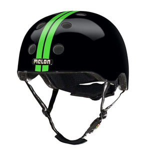 Bicycle Helmet Urban Active MELON - Straight Green Black