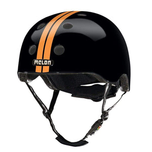 trucavelo Helmet MELON Urban Active Helmet - STRAIGHT ORANGE BLACK