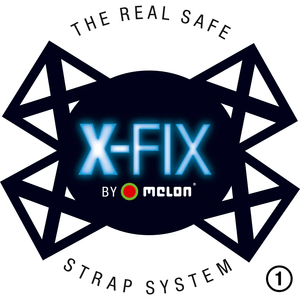 X-Fix – the Roll-Off-Protection Safety System - MELON Toddler Helmet