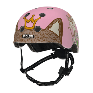 Kids Bicycle Helmet Toddler MELON - Robin & Miez