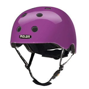 Kids Bicycle Helmet Toddler MELON - Rainbow Purple