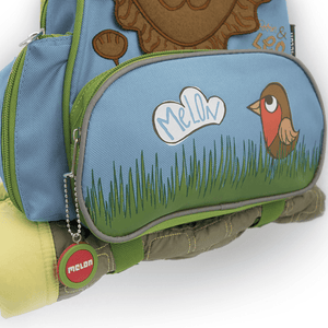 Backpack Utility Straps - MELON Toddler Story Backpack Leo