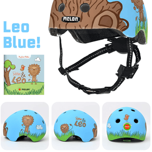 MELON Toddler Helmet Leo & Bookstory