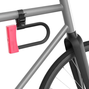 U-Lock Mason 85/180 - Mounted on bike