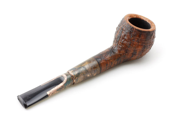SOLD - C.Perkins - Blasted Devil Anse with Copper Patina