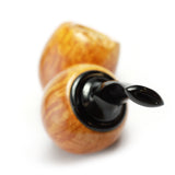 Kim Handmade Pipes - Smooth Double Fig Reverse Calabash