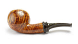 Kim Handmade Pipes - Smooth Bent Tomato
