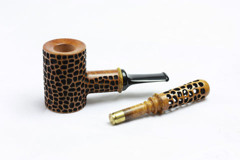 Pipkin Pipes - Leopard Poker Set