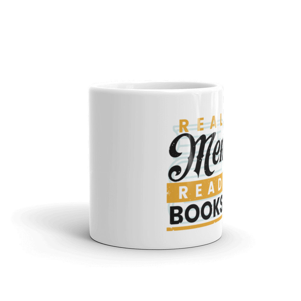 Real Men Read Books Coffee Mug - 2botswear.com