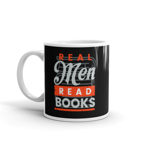 Real Men Read Books Coffee Mug