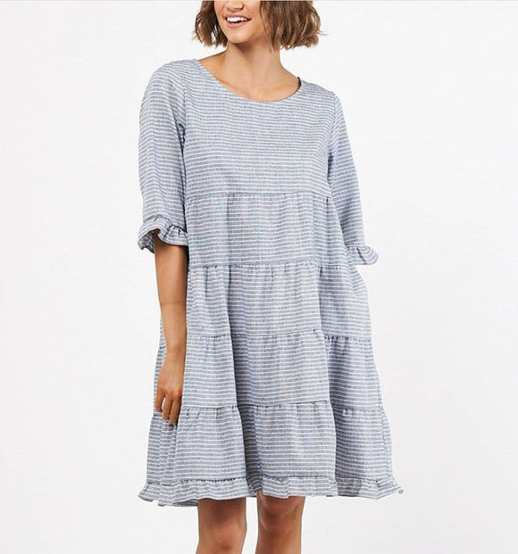 Wren Gingham Layer Dress