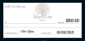 Gift Voucher - select Amount