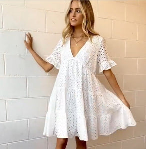 WC Daisy Broderie Anglaise cotton Dress