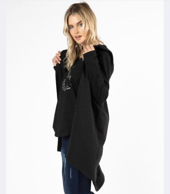 Betty Basics Jaden Oversized Hoodie cardi