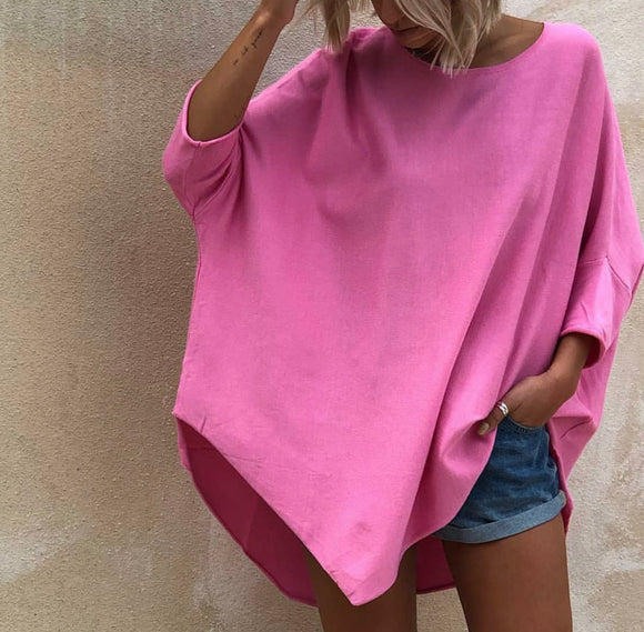 LOL Pink Fairy Floss  3/4sleeve knit
