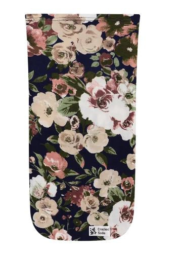 Cracked Soda Navy Floral Pouch