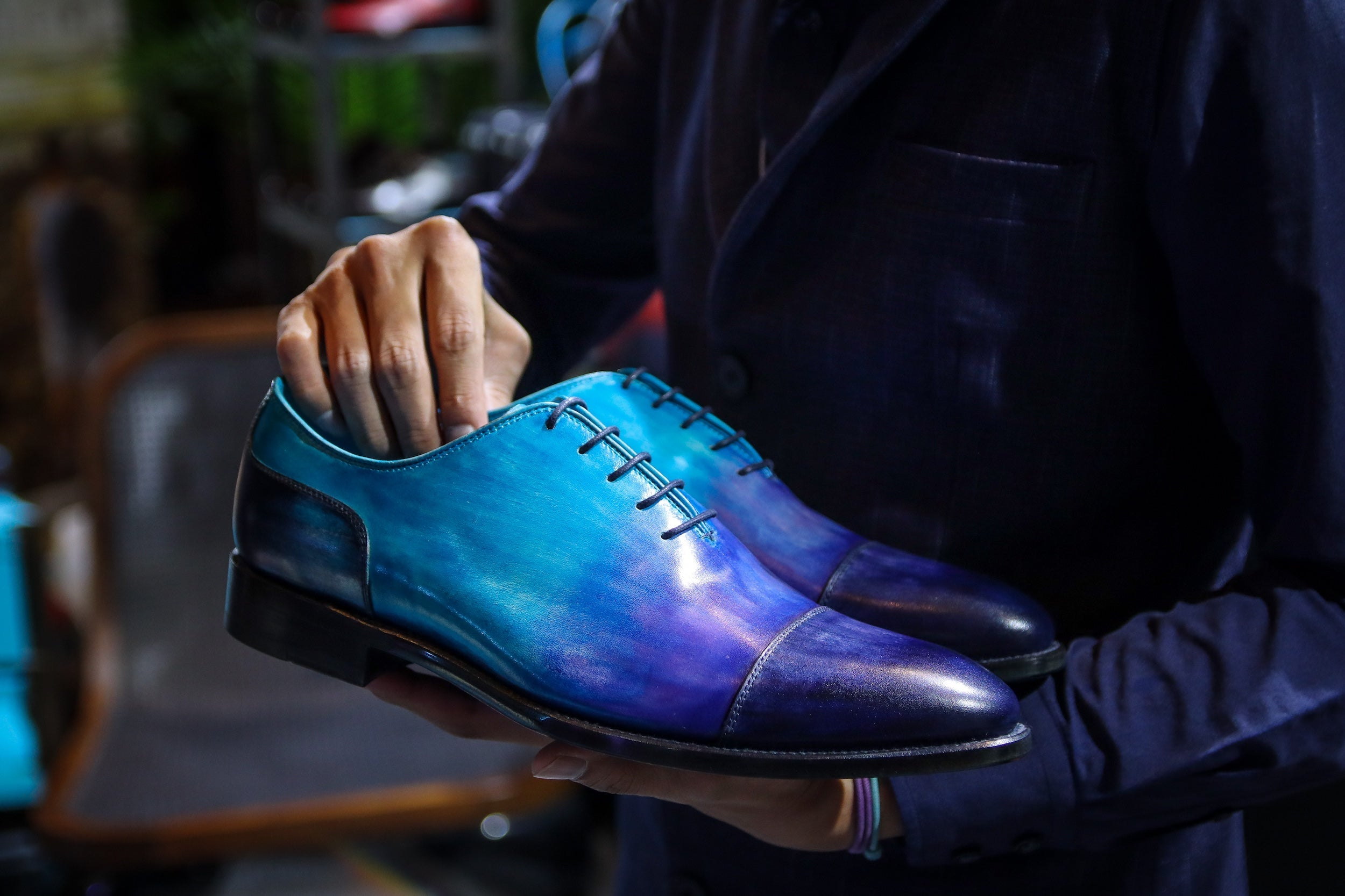 Launching a luxury shoes brand in Asia