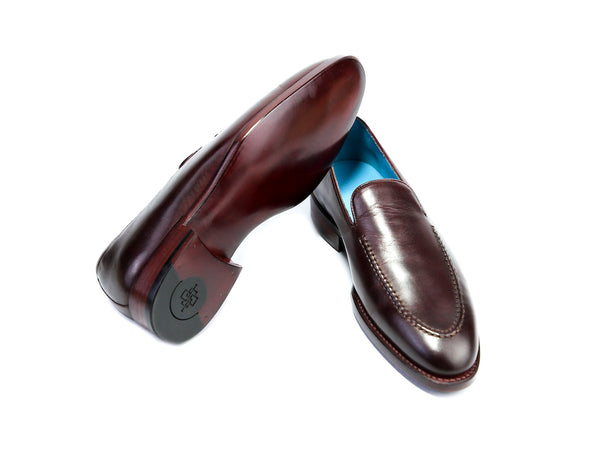 36 EE BERNARD LOAFERS, DARK BURGUNDY PATINA - READY TO WEAR