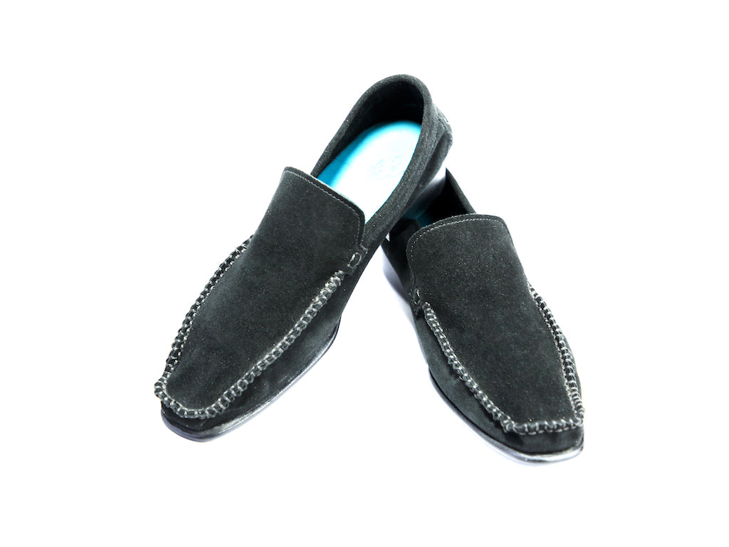 37 F BOXER LOAFERS, BLACK SUEDE - READY TO WEAR
