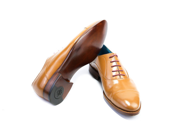 38 EE CLASSIC SHOES, TAN - READY TO WEAR