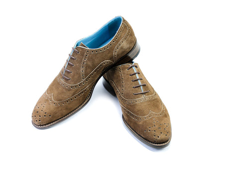 38 EE COUNTRYMAN SHOES, BROWN SUEDE - READY TO WEAR