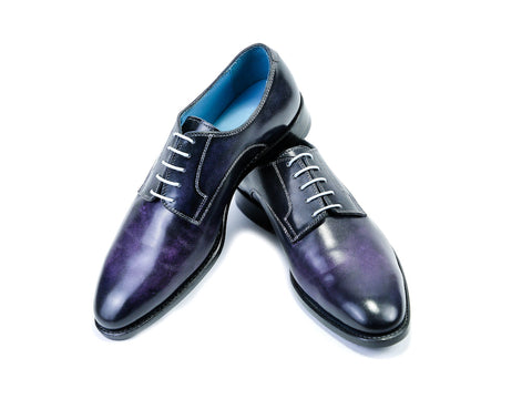 38 EE PERT SHOES - PURPLE PATINA - READY TO WEAR