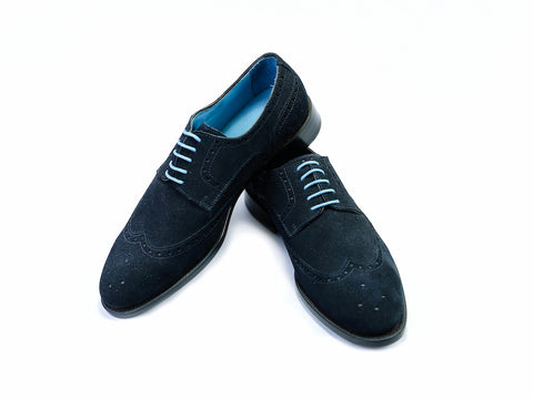 38 EE WANG TAI SHOES - BLACK SUEDE - READY TO WEAR