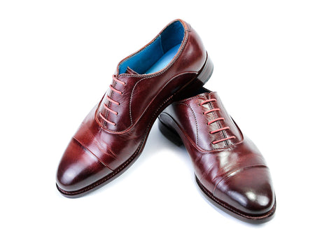 38 G CLASSIC SHOES, BURGUNDY PATINA - READY TO WEAR