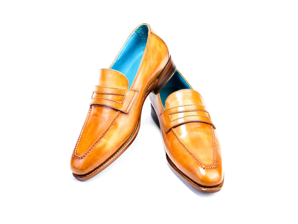 38 N ALEX LOAFERS, LEATHER PATINA - READY TO WEAR