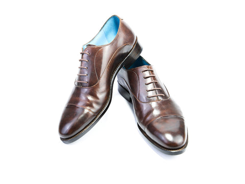 39 EEE CLASSIC SHOES, BROWN PATINA - READY TO WEAR