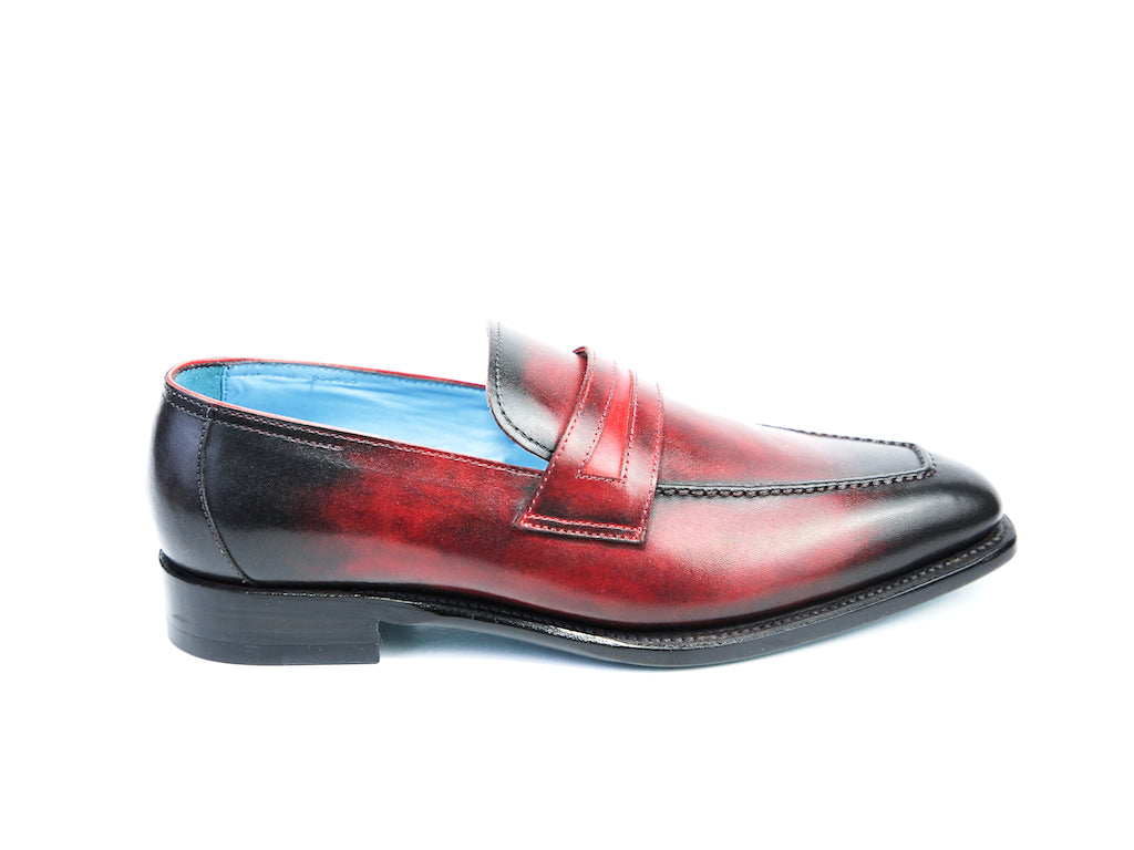 39 F ALEX LOAFERS, RED PATINA - READY TO WEAR