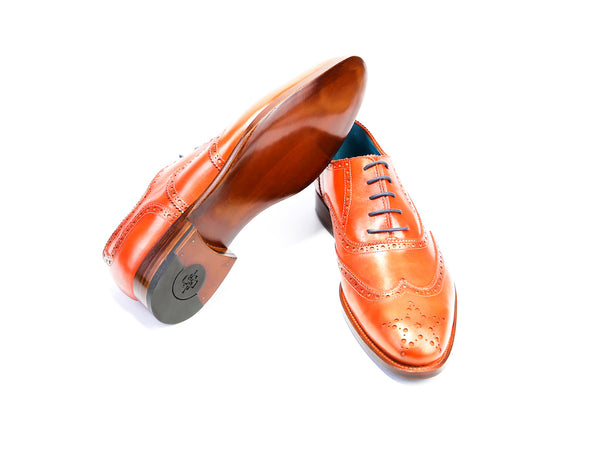 40 EE COUNTRYMAN SHOES, ORANGE PATINA - READY TO WEAR