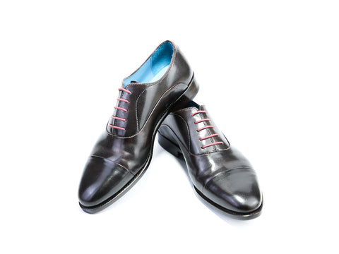 40 EEE CLASSIC SHOES, BLACK PATINA - READY TO WEAR
