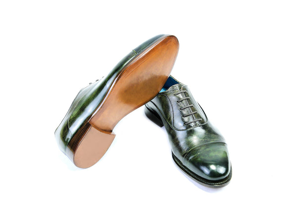 40 G CLASSIC SHOES, GREEN PATINA - READY TO WEAR
