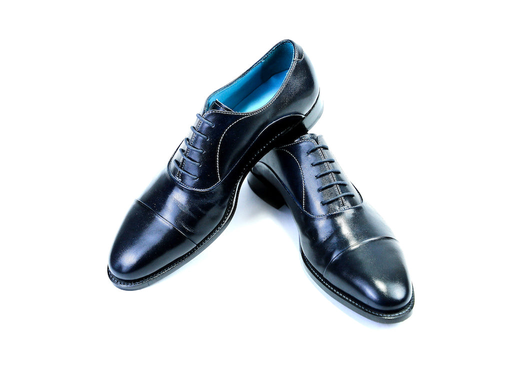 41 E CLASSIC SHOES, BLACK PATINA - READY TO WEAR