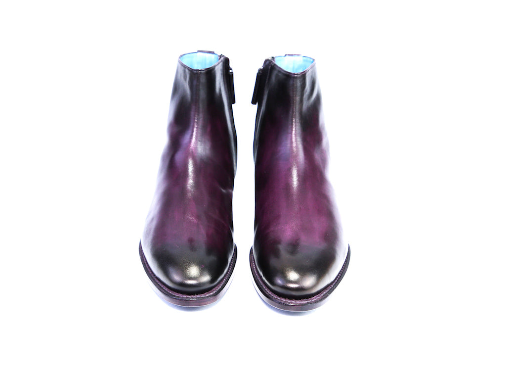 41 EE SI BOOTS, PURPLE PATINA - READY TO WEAR